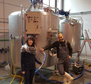 Visitando la fábrica de San Frutros en Segovia