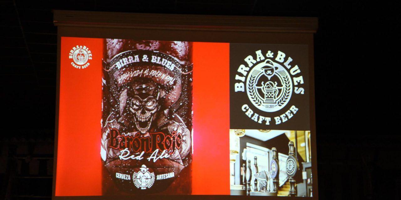 Presentación de la nueva fábrica de cerveza artesanal de Birra&Blues y de la cerveza hecha para el grupo Barón Rojo
