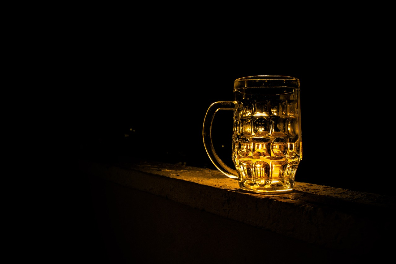 cerveza oscuridad