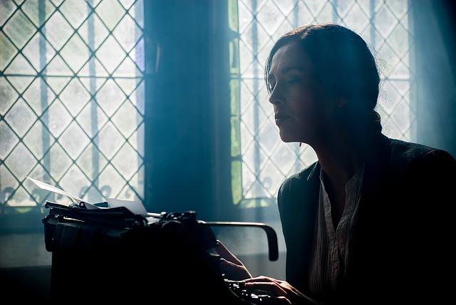 taquígrafo máquina de escribir