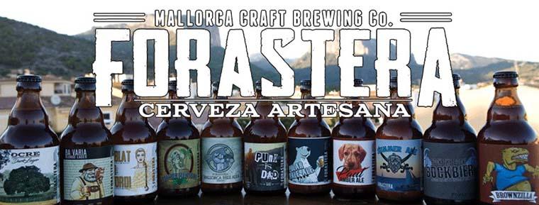 cervezas artesana Mallorca Forastera