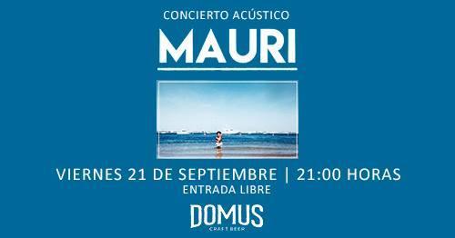 concierto Mauri en Domus