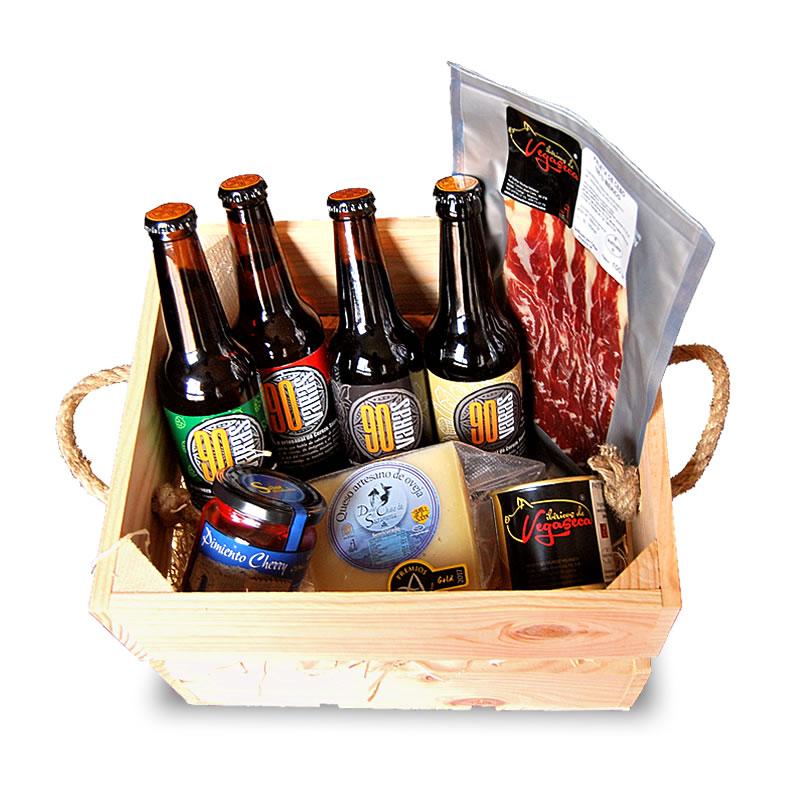 regalo cervezas navidad
