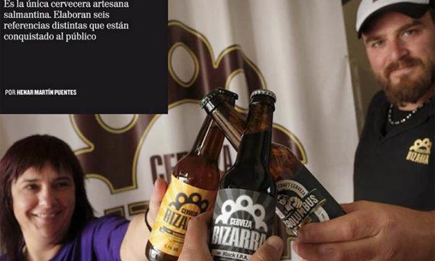 Reportaje en 'La Posada' a Cerveza Bizarra
