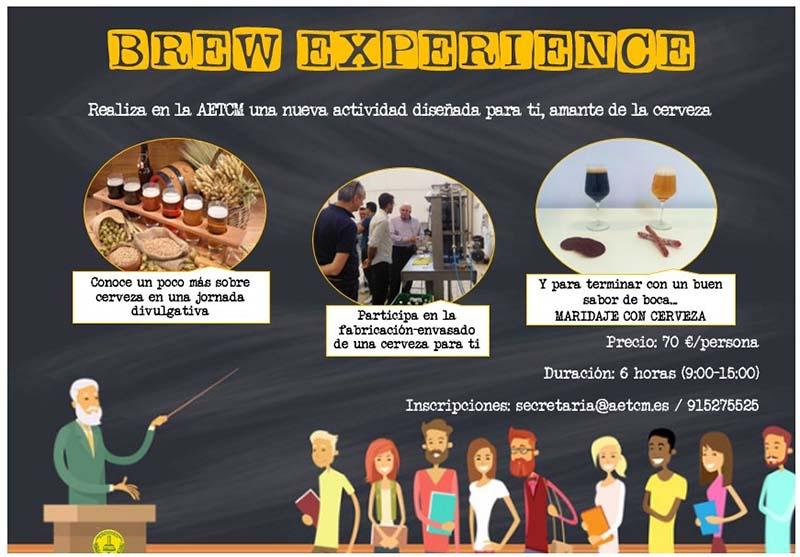 experiencia cervecera AETCM