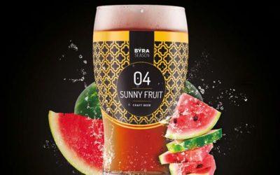 Cerveza Byra presenta Sunny Fruit, con un atrevido toque de sandía
