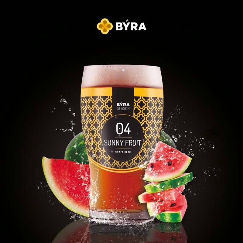 cerveza byra sunny fruit
