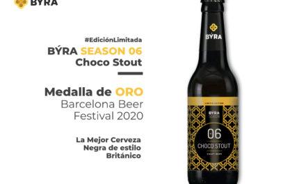 La cervecera vasca BÝRA gana la medalla de oro en el Barcelona Beer Challenge con su última cerveza