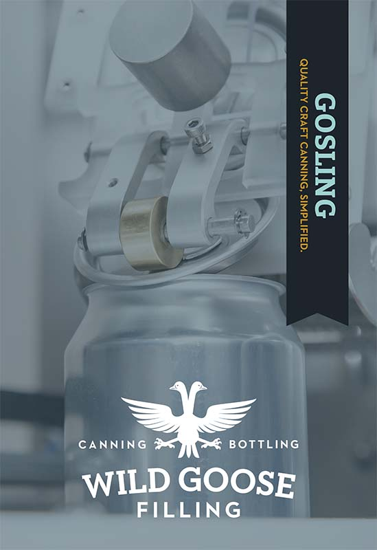 gosling máquina enlatadora