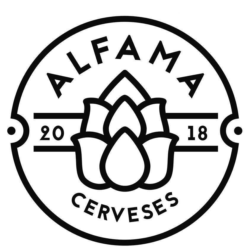 cerveza artesanal alfama logo