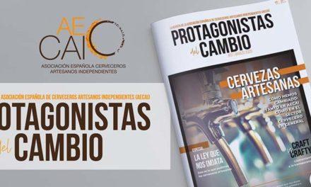 #ProtagonistasdelCAMBIO: una revista con una línea editorial reivindicativa de los cerveceros artesanos e independientes