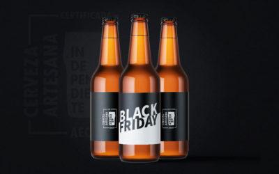 Ofertas y promociones en cerveza artesana e independiente durante el Black Friday