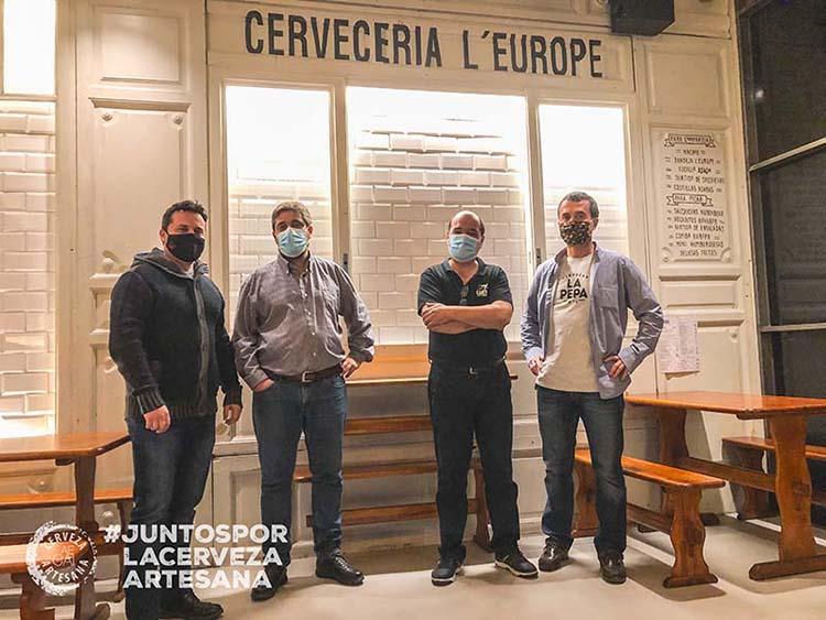 aecai juntos por la cerveza artesana cervecería Europe Madrid