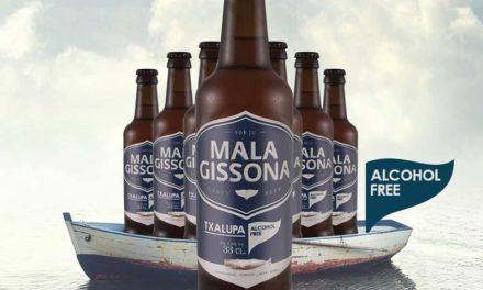 Mala Gissona lanza por primera vez una cerveza sin alcohol