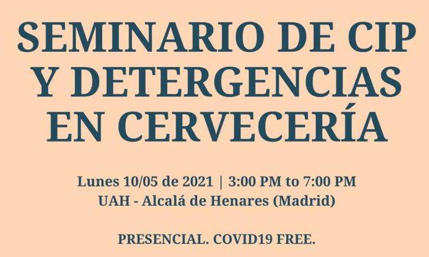 Seminario de CIP y Detergencias en Cervecería: precio especial para socios AECAI