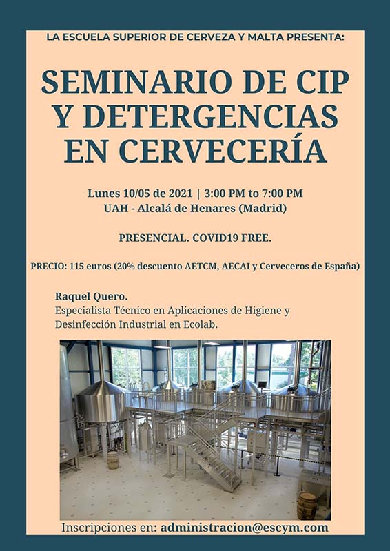 seminario cip y detergencias en cervecería