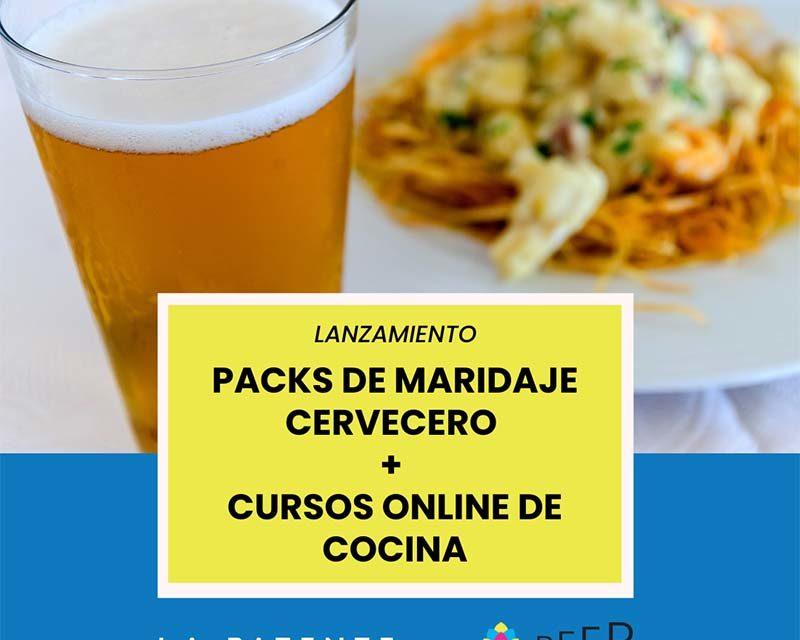 Beer Sapiens y La Patente Academy lanzan Packs de Maridajes Cerveceros + Cursos de Cocina