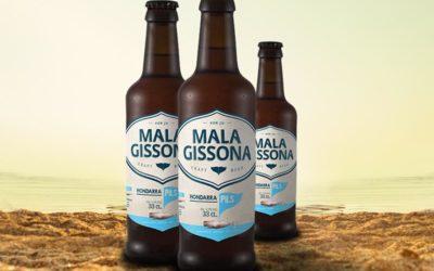 La cervecera  de Oiartzun Mala Gissona lanza su quinta novedad en lo que va de año: Hondarra