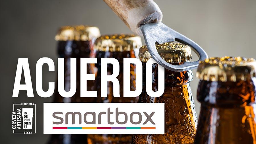 Acuerdo AECAI-Smartbox para el envío a domicilio de packs de cerveza artesana