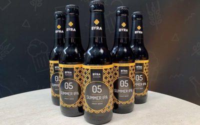 La cervecera alavesa BÝRA elabora una nueva cerveza en edición limitada con el lúpulo como protagonista