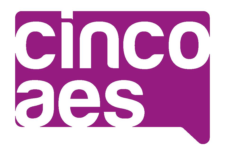 agencia de marketing y comunicación cincoaes logo