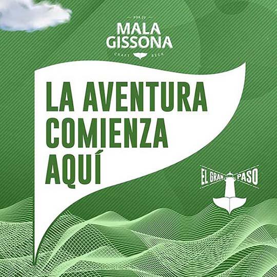 El gran paso, el primer podcast de Mala Gissona