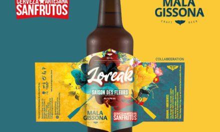 Loreak, una saison colaboración entre Mala Gissona y SanFrutos