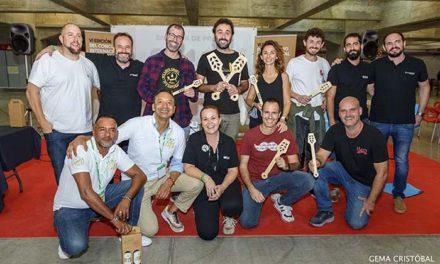 Entrega de premios de la VI Edición del Concurso  Internacional de Cervezas Artesanas (CICA) que se  celebró en Can Picafort el pasado mes de septiembre